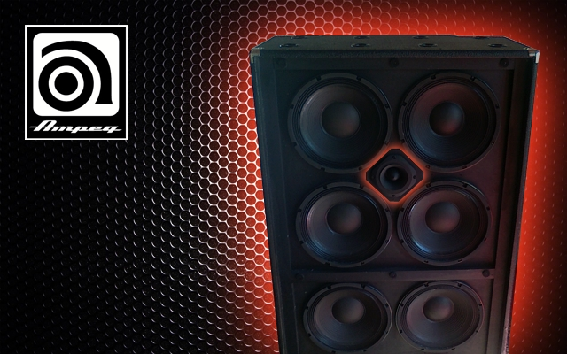 Ampeg 810 : Customiser son frigo avec un tweeter à compression